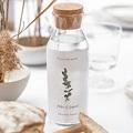Etiquette Bouteille Mariage Eucalyptus Aquarelle, vin gratuit