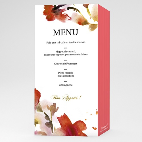 Archive - Menu Aquarelle 9748