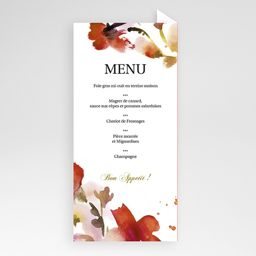 Archive - Menu Aquarelle 9749 preview