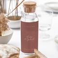 Etiquette Bouteille Mariage Arche Bohème, Vin gratuit