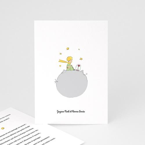 Carte de Voeux Voeux du Petit Prince