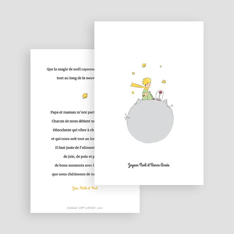 Carte de Voeux Voeux du Petit Prince gratuit