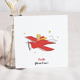 Carte Invitation Anniversaire - Une Petite Princesse Exploratrice - 0