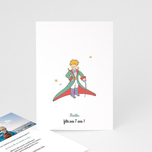Carte Invitation Anniversaire Chevalier au grand Coeur