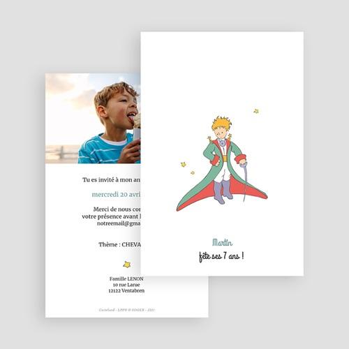 Carte Invitation Anniversaire Chevalier au grand Coeur gratuit