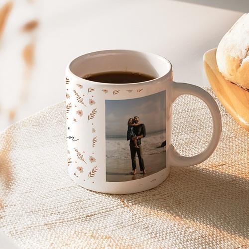 Mug Personnalisé Photo Maman d'amour, 2 Photos
