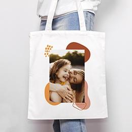 Tote Bag Personnalisé - Touches d'Amour, Sac fourre-tout - 0
