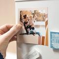 Magnet photo rétro Touches d'Amour, Lot de 12