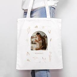 Tote Bag Personnalisé - Petit herbier pour Maman - 0