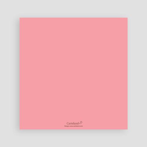 Faire-Part Naissance Fille - Initiale Rose 979 preview