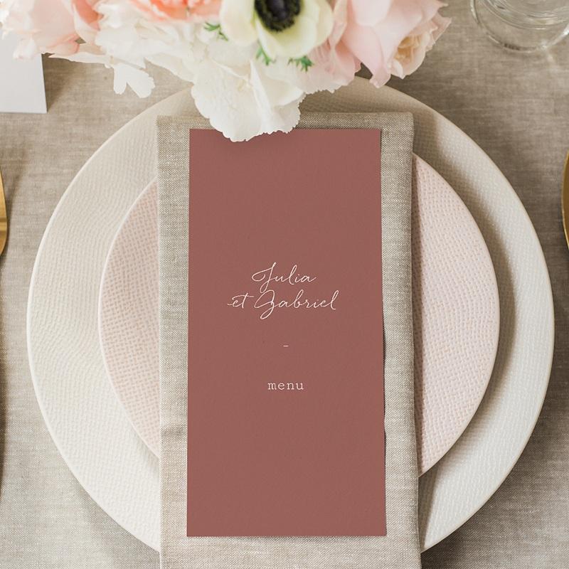 Menu Mariage Arche Bohème, Repas gratuit