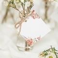 Marque Place Mariage Romantico, Roses caramel, 4,5 x 4,5