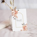 Carte Invitation Mariage Romantico, Roses caramel & Dorure