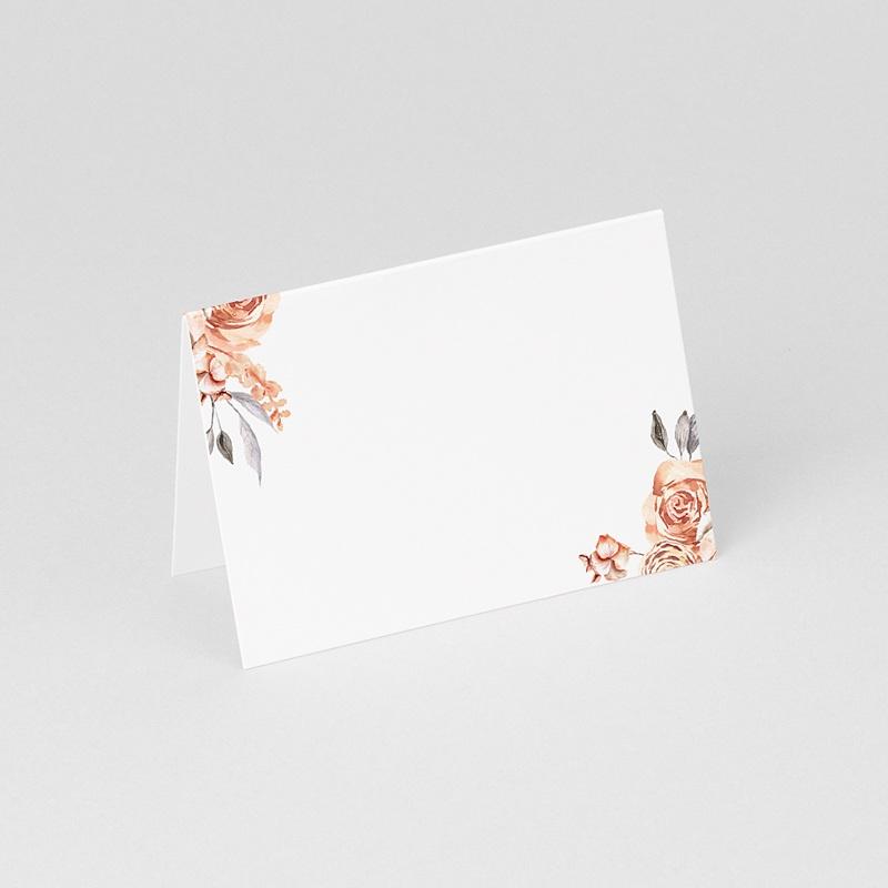 Marque Place Mariage Romantico, Roses caramel, 7,5 x 5,2 cm gratuit