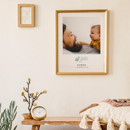 Affiche Chambre Enfant Le Petit Prince Découvertes d'un Petit Prince, Portrait