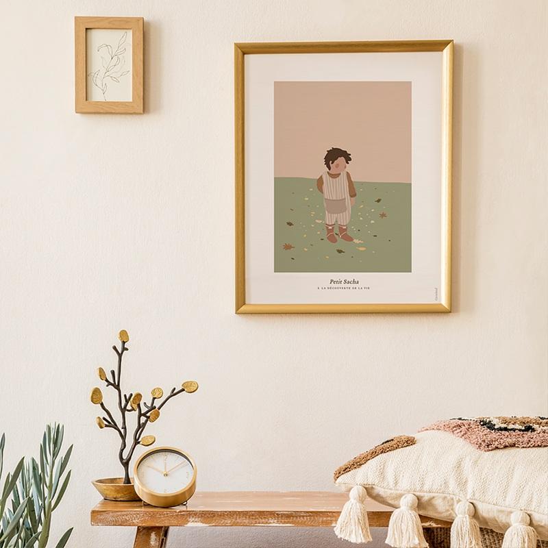 Affiches Le monde de Sacha, 30 cm x 40 cm