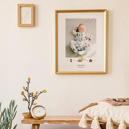 Affiche Chambre Enfant Le Petit Prince Le Petit Prince aventurier, portrait