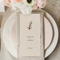 Menu Mariage Boho Olivier beige, repas de noces gratuit