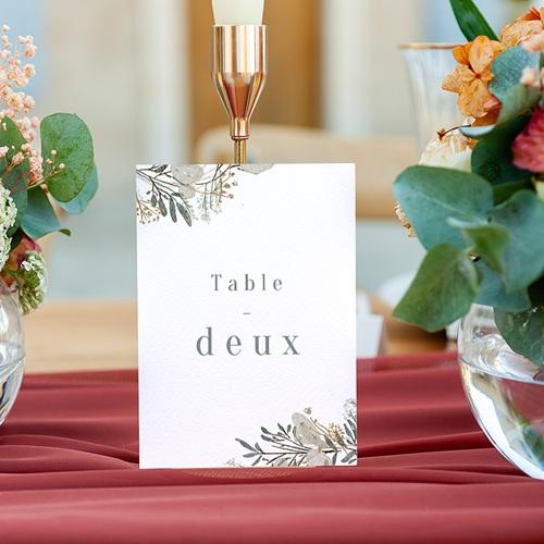 Marque Table Mariage Couronne Monnaie du Pape, Lot de 3 gratuit
