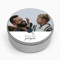 Boîte Personnalisée Photo Papa d'Amour, fleur & photo pas cher