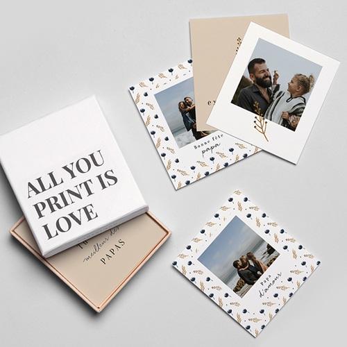 Magnet photo rétro Papa d'amour, Lot de 12 gratuit