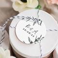 Etiquette Cadeau Mariage Olivier Aquarelle, Souvenir gratuit