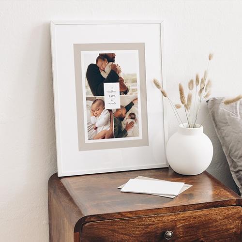 Affiches La vie en famille, beige, 3 photos gratuit