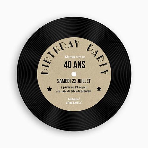 invitation-anniversaire-vinyle