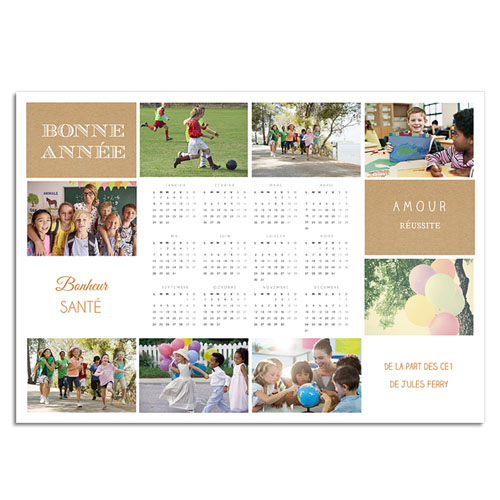 calendrier association