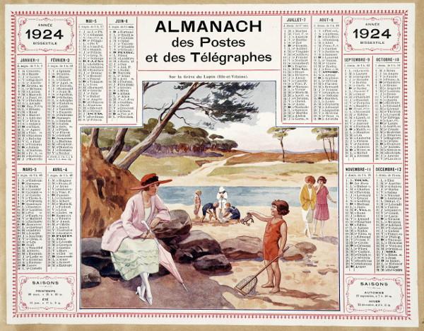 Calendrier Poste.Calendrier Ptt Postes Telegraphes Telephones