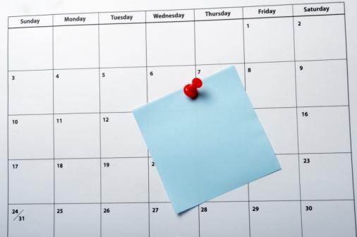 calendrier semaine