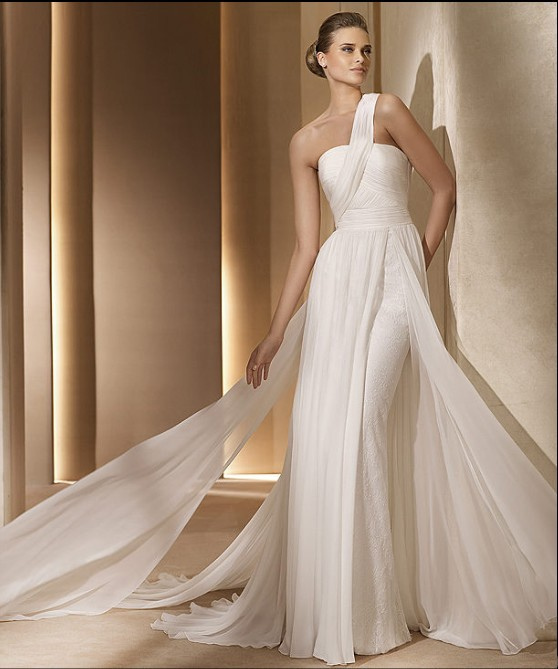 Vestidos Inspirados En La Cultura Griega: Choisir Son Style Pour Le Jour J : La Robe De Mariée Fourreau