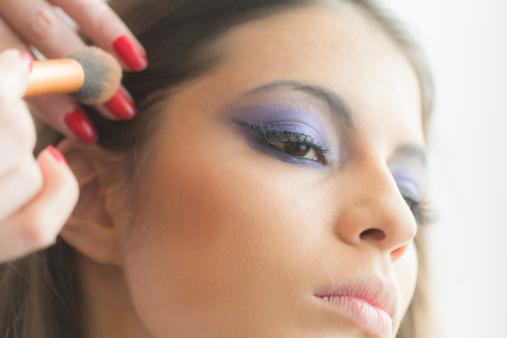 Maquillage mariage mediterranéen