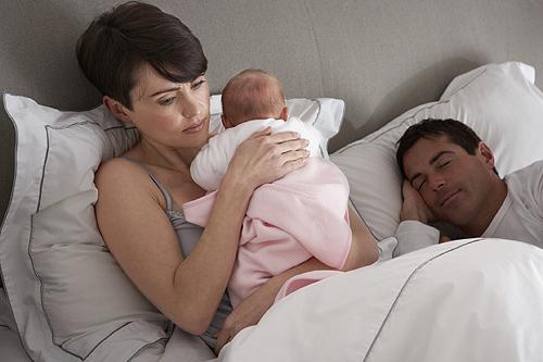 dormir avec son bébé