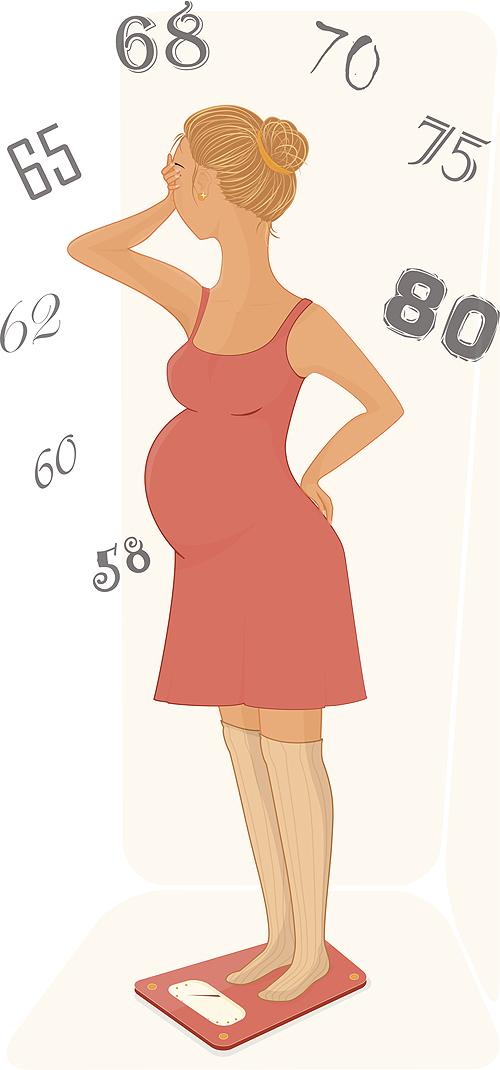 Conseils sur la prise de poids en période de grossesse