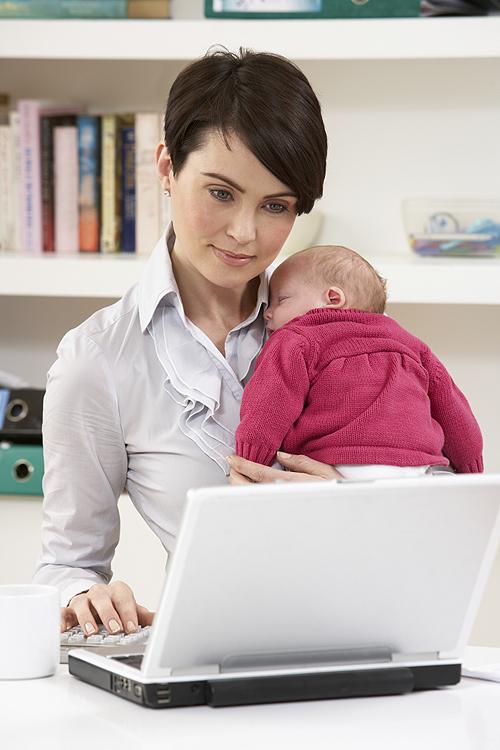 reprise travail après bébé