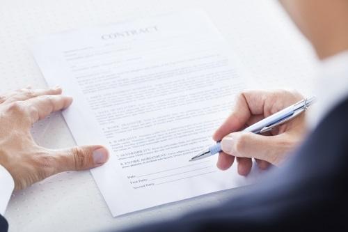 signature contrat mariage