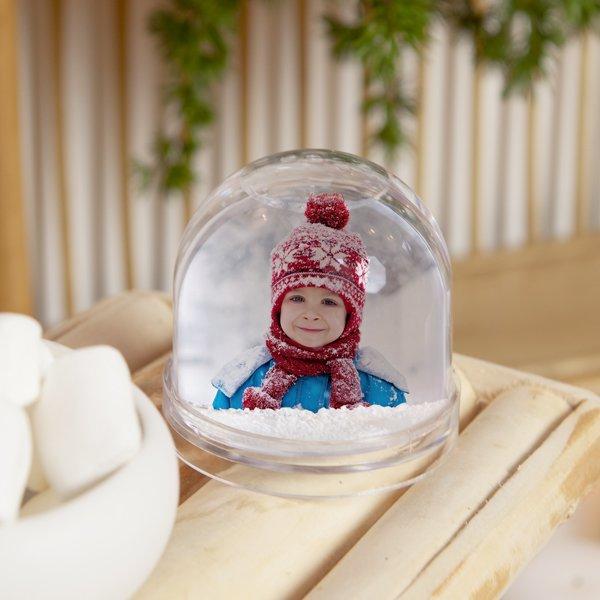 Boule à neige avec photo