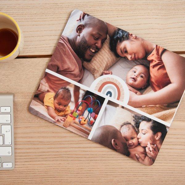 Tapis de souris personnalisé photo