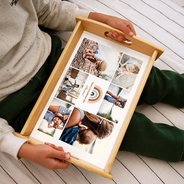 Plateaux personnalisés avec photos