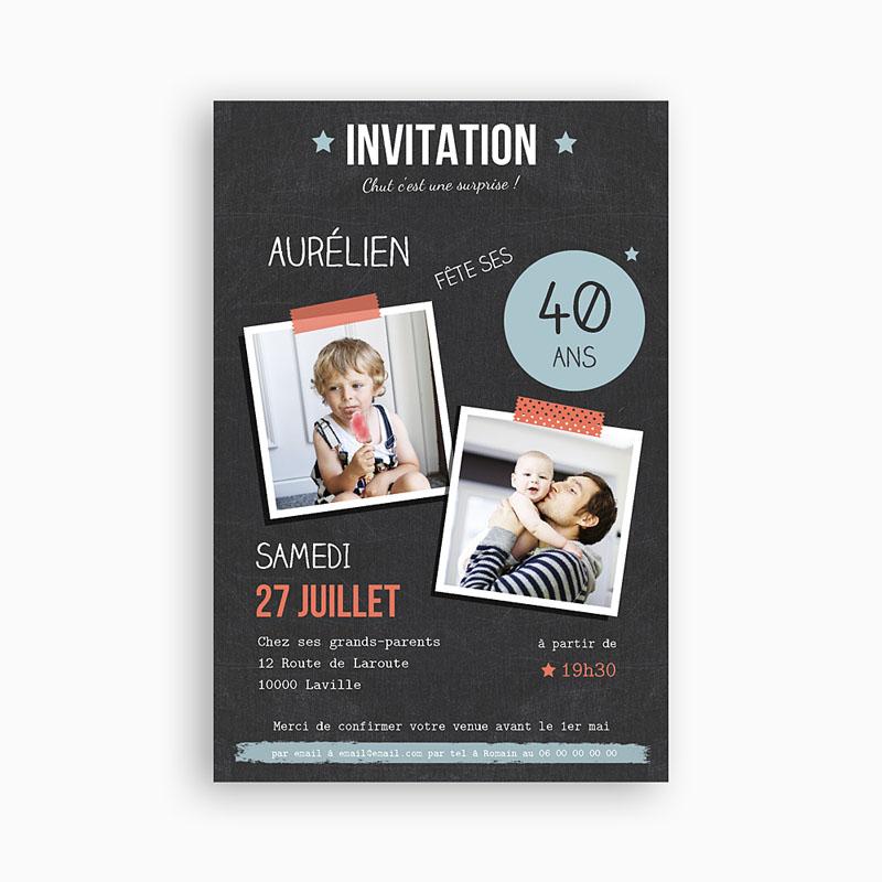 Préférence Carte Invitation 18 Ans. Une Carte Pour Un Futur Chef With Carte  ET06