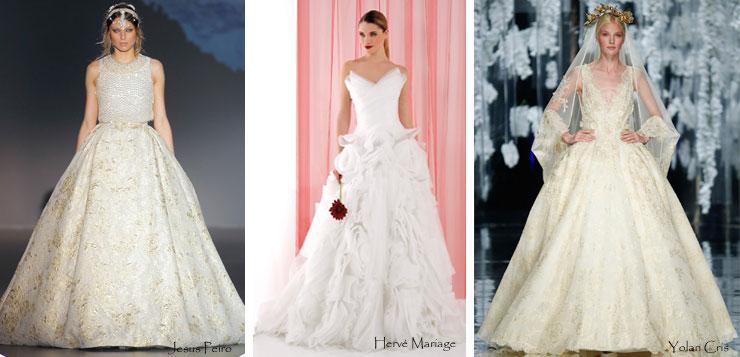 Robes de mariée de princesse