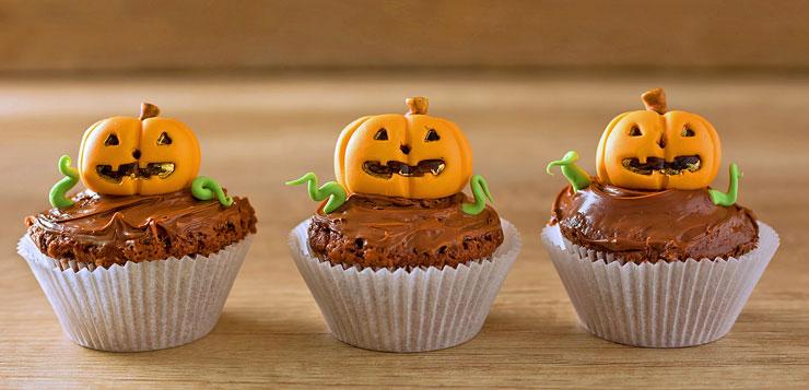 Muffins citrouille Halloween