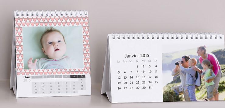 Les jolis calendriers de bureaux