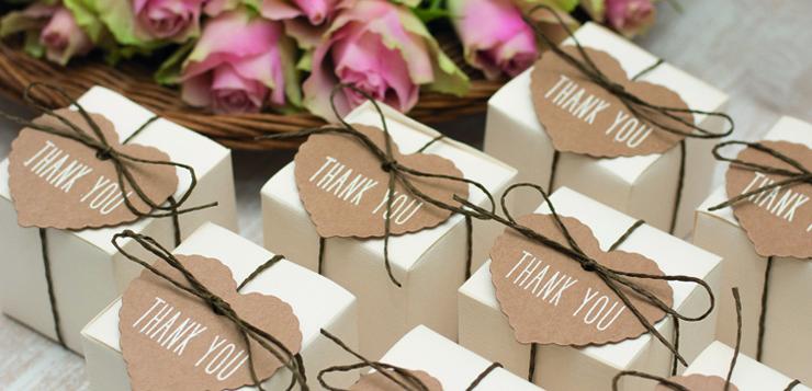 Des Idees De Cadeau Pour Remercier Vos Invites De Mariage