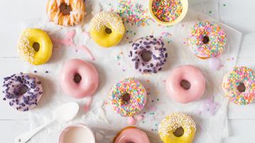 Donuts colorés