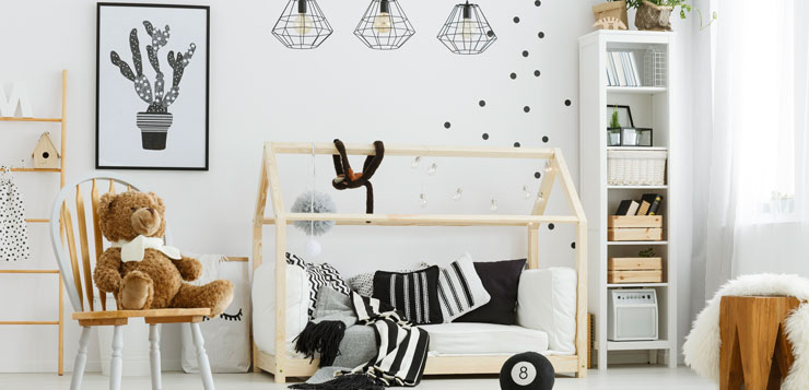 id es d coration pour la chambre de b b magazine. Black Bedroom Furniture Sets. Home Design Ideas