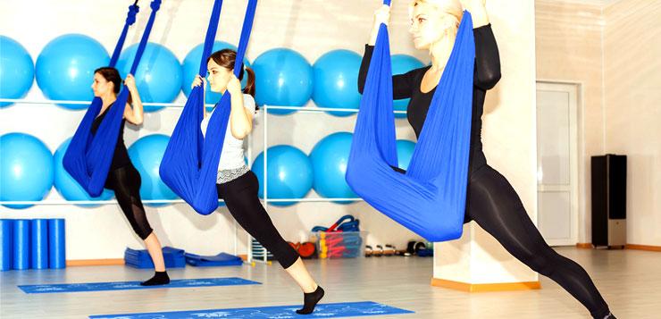 cours de yoga entre fille