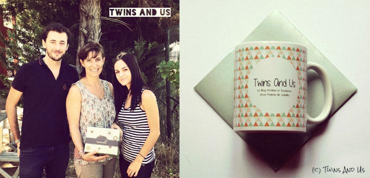 Twins and Us découvre les locaux de carteland