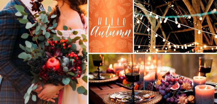 decoration mariage automne